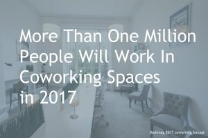 One Million people will work in coworking spaces in 2017 Dublin will follow trend