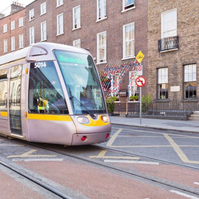 LUAS Right Outside