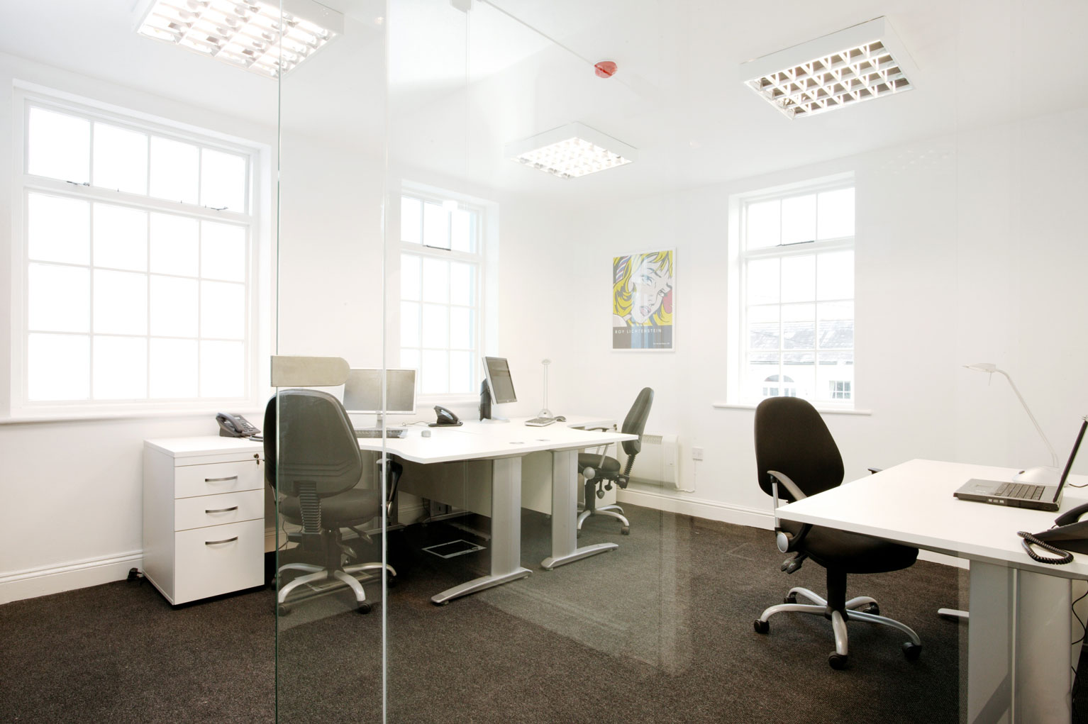 3/4 Person Office
